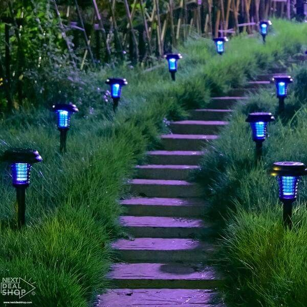 Description: The fear of getting bitten by mosquitoes or bugs always refrains you from outdoor dinners and parties, this Mosquito Killer Lamp is the solution to