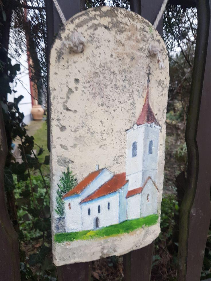 diy project festett bontott cserép