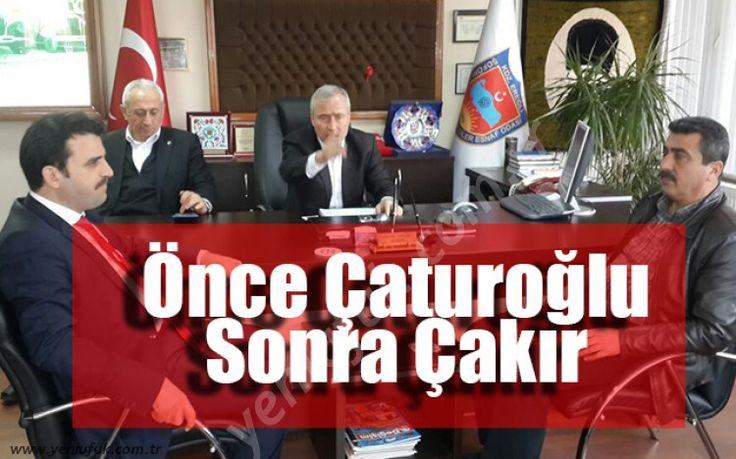 Yaklaşık 1 ay önce AK Parti Zonguldak Milletvekili Faruk Çaturoğlu'nun Kaymakam Nazım Madenoğlu'nun ziyaretinde verdiği müjdeyi AK Parti İlçe Başkanı Fatih Çakır, Kdz. Ereğli Şoförler ve Otomobilciler ziyaretinde ..