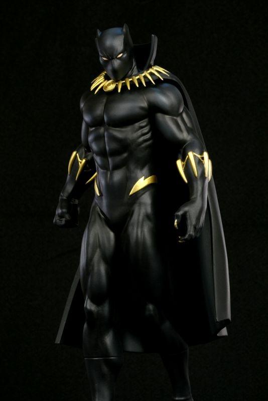 Black Panther Modern museum statue - Bowen Designs