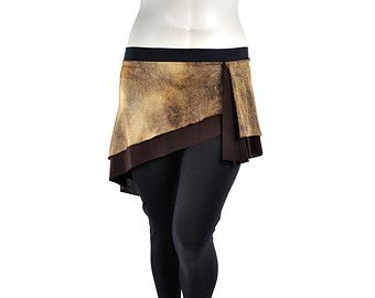 Mini falda inclinada negro con brillo negro la por dreamingamelia