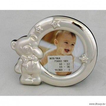 """PR Interiors Babyfotokader baby kader met beertje Ø9<span style=""""font-size: 0.01pt;""""> PR-Rogiers-Home-Interiors-HCK/964 fotokader-fotohouder-cadre-photo-cadres-photo-fotokaders-fotohouders-bilderrahmen-fotokaders-picture-frames-cadr </span>"""