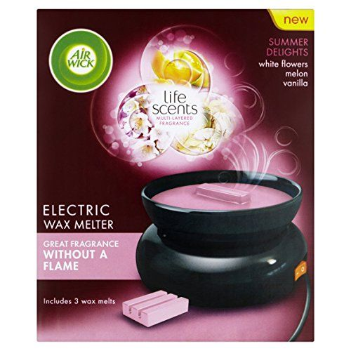 Was £10.99 > Now £6.00.  Save 45% off Air Wick Summer Delights Electric Wax Melter 33 g #5StarDeal, #Airwick, #Grocery, #HomeAccessories, #LowestEver, #Under10