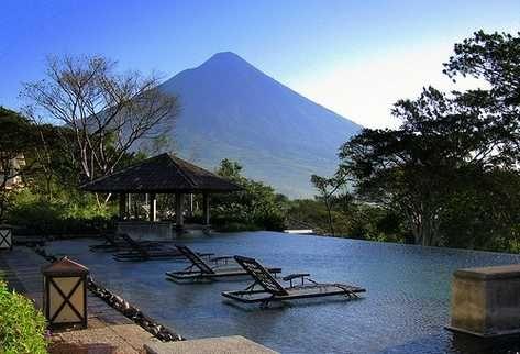 Una vista preciosa en La Reunion - Guatemala.