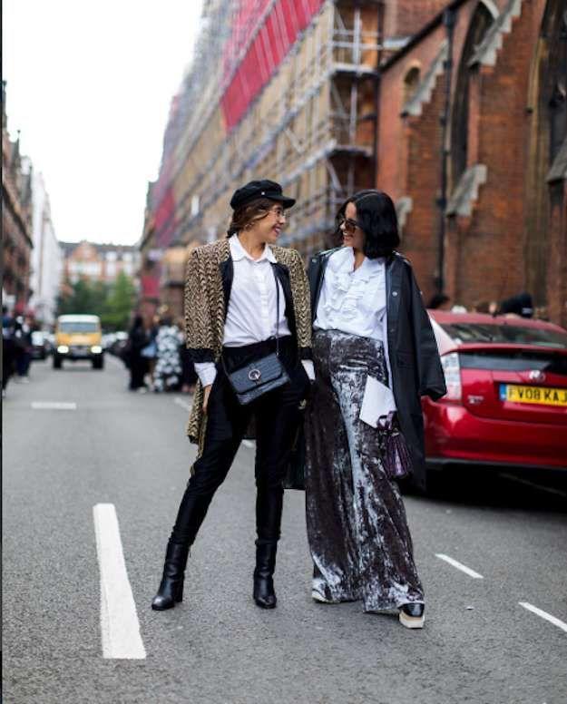 Streetstyle en la Semana de la moda de Londres 2017: fotos de los looks - Streetstyle London