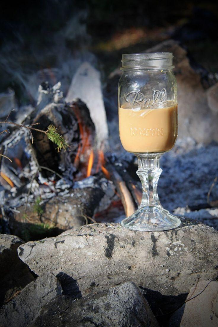 Morning camp coffee. Tehkummah, Manitoulin Island