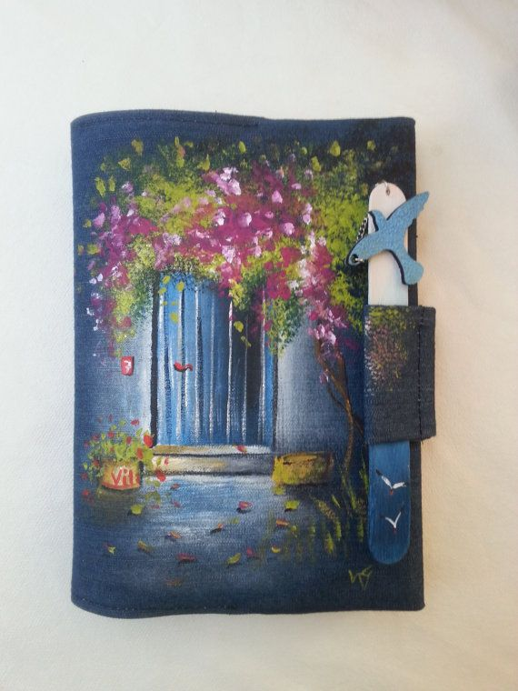 Book covers handmade notebook cover book lover gift by AxiKedi