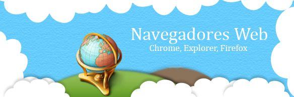 """Qué es un Navegador Web o Browser?  Para navegar por Internet necesitamos un Navegador Web, también llamado Browser. Un Navegador Web es una aplicación que nos permite entrar en sitios web y navegar por ellos pudiendo interactuar con el contenido. La mayoría de los Navegadores Web son de """"código abierto"""", es decir, que te los puedes descargar gratis en tu ordenador. Entre los diferentes Navegadores Web que puedes usar en Internet destacamos: Google Chrome, Mozila Firefox, Internet Explorer"""