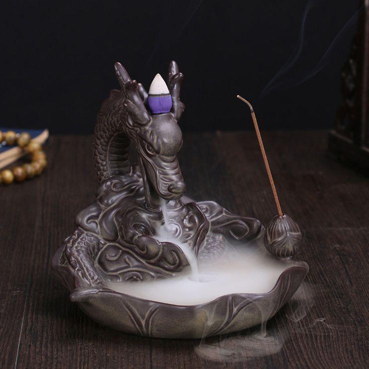 Type: Incense Burner Material: Ceramic - Classification: Incense Base Cosmetic Feature: Assuaging and Calming Application Area: Living Room Use: Smell Removing/Dehumidification - Comes in a Luxurious