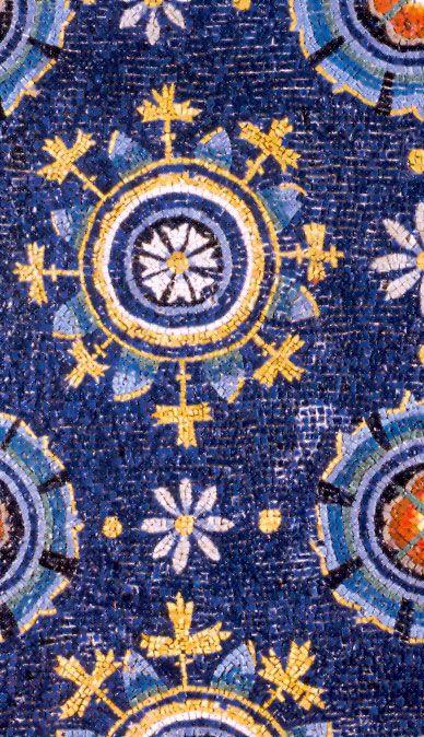 """""""Cielo stellato"""" del Mausoleo di Galla Placidia Ravenna, Italy"""