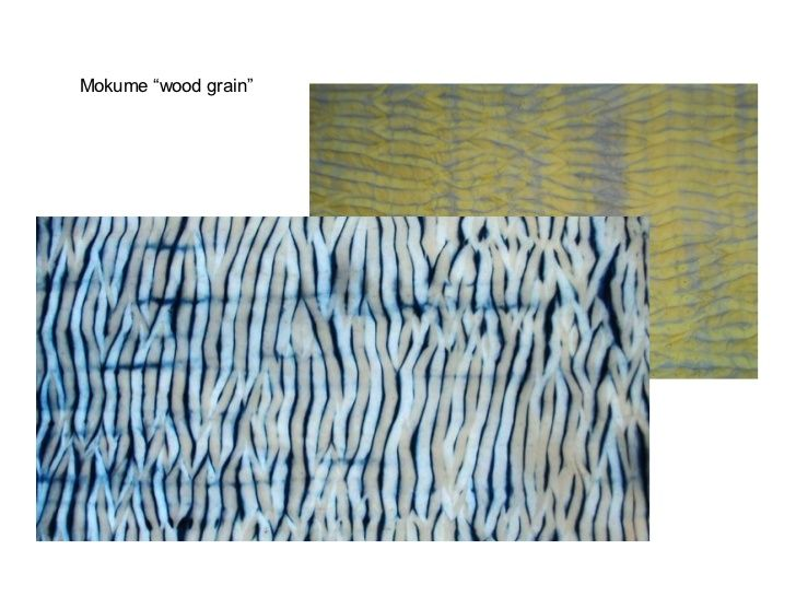 Itajime Shibori is created by pleating, folding, clamping and dyeing thefabric and it can be used to create repeat pattern...