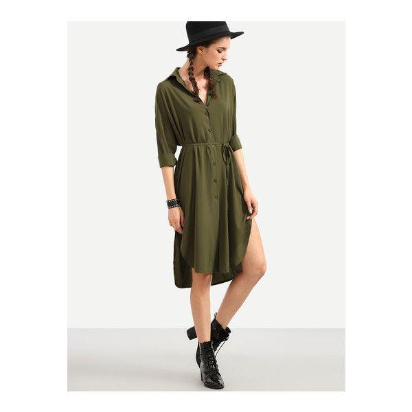 Best 25+ High low shirt ideas on Pinterest   Long shirt dress ...