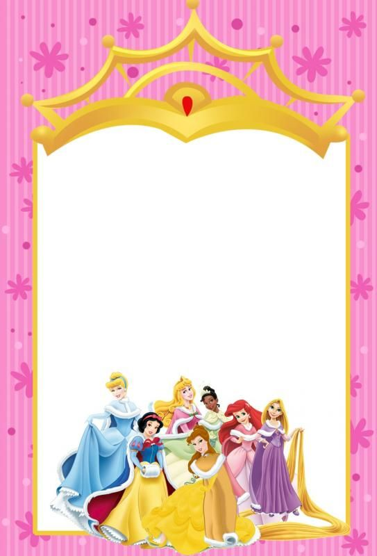princess invitation template template pinterest princess