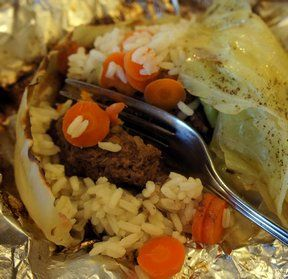 Hobo Dinner with Cabbage Recipe