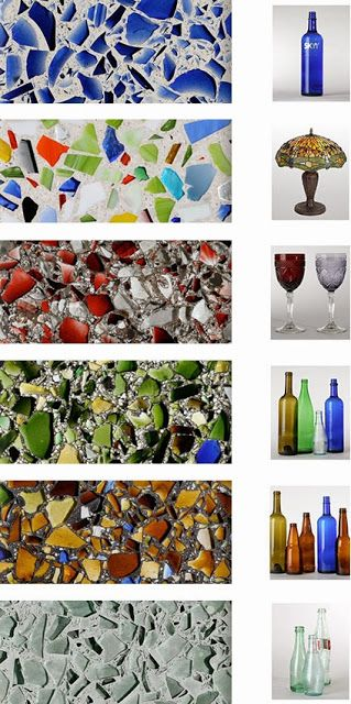 70 Best Vetrazzo Recycled Glass Images On Pinterest