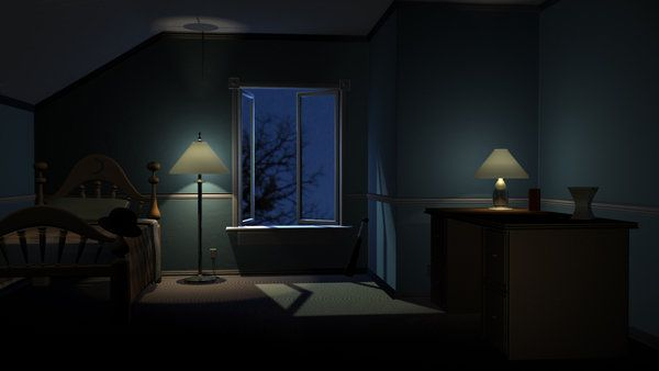 17 Best Images About Rooms At Night On Pinterest 2d