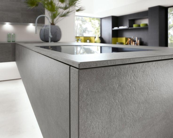 новая  матовая серая керамика кухни ALNOCERA