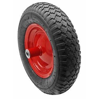 16 Wheelbarrow Tire, Silver steel #CART-012