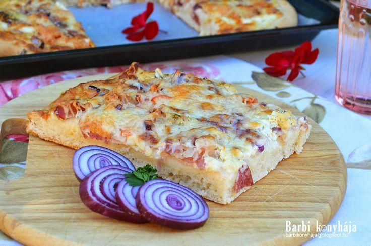 Barbi konyhája: Kenyérlángos