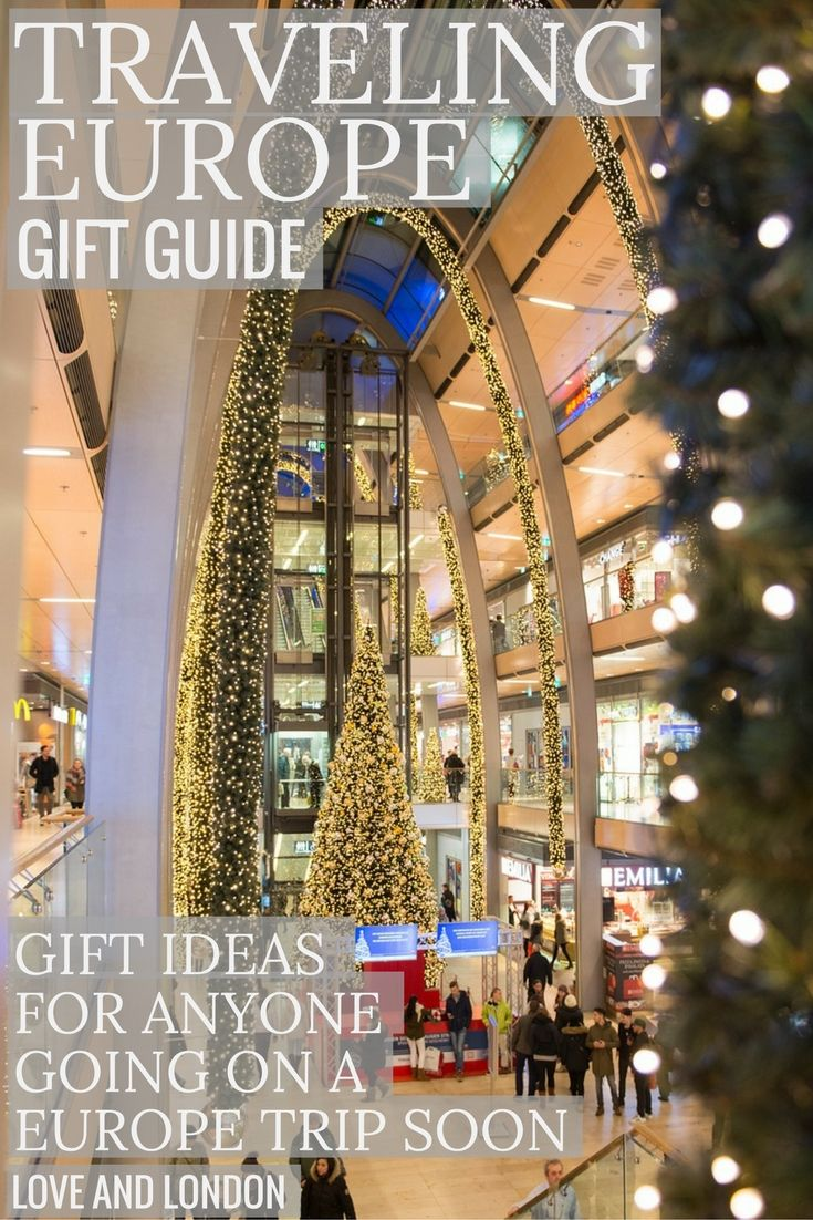 Top gift ideas for anyone traveling Europe soon. Get them a present that will be something they'll use on their Europe trip. Ideas include City Passes, interesting travel accessories, and more.