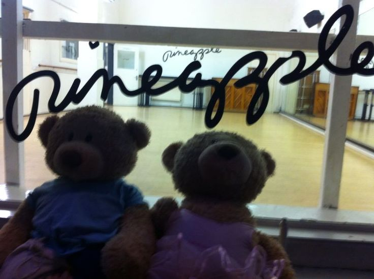 Twinkle and Teddy at Pineapple Dance Studios