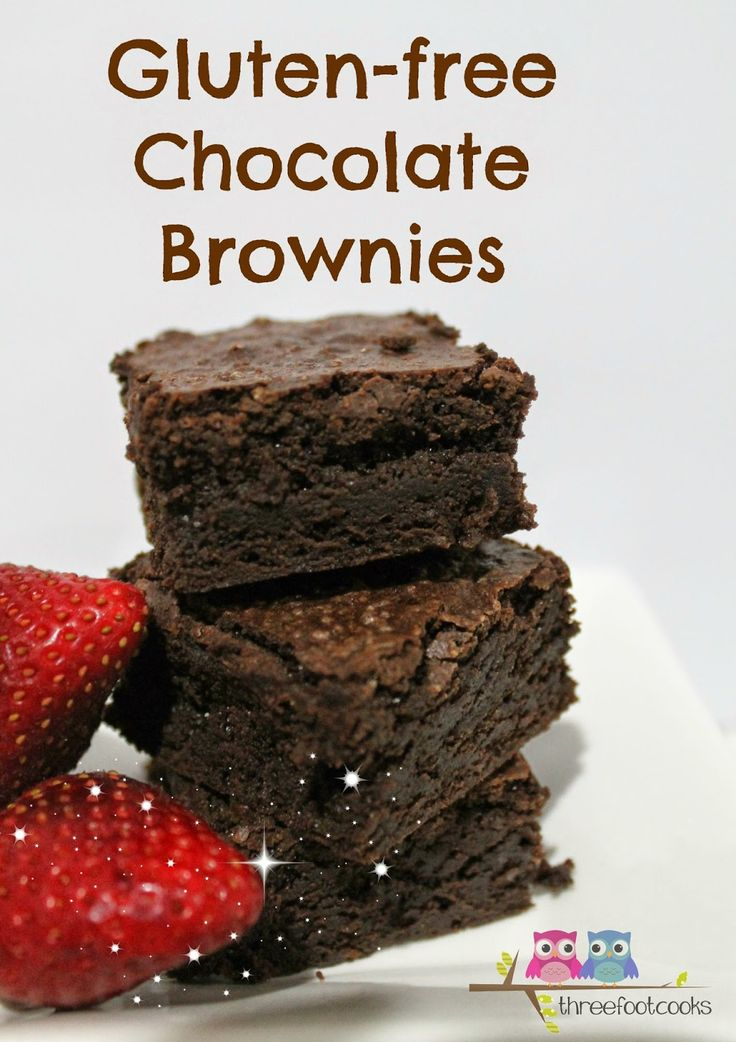 C is for Chocolate Brownies Gluten-free