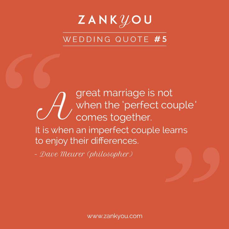Wedding Quote #5  Apprendre à #aimer chaque #différence et chaque trait de la #personnalité de sa moitié est LA réelle #preuve d'un amour sincère et désinteressé ❤️