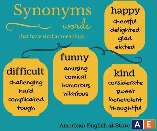 78 best images about synonym on Pinterest | English, Facebook and Gcse english