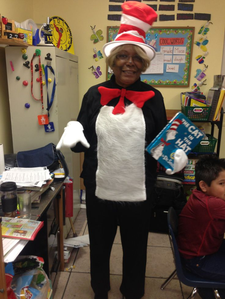 Mrs. Wilson as the Cat in the Hat