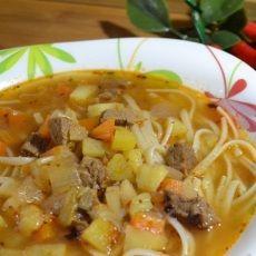 Суп из говядины