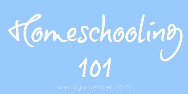 Homeschooling 101 | www.wendywoerner.com | Find posts here that discuss how to homeschool, methods of homeschooling, getting organized, encouragement for your #homeschool journey, and more! Be sure to check back often, as I will continue to add links as I write more posts that fit these categories. #encouragement