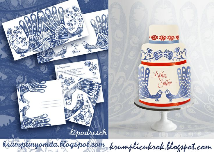 Madaras esküvői arculat terv  http://krumplicukrok.blogspot.hu/2013/05/kek-piros-madaras-tortaterv.html