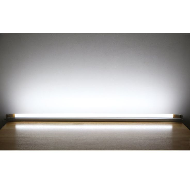 LE 18W 4 Foot T8 LED Tube Light, Equal to 40W Fluorescent Tube, Frosted Cover, Daylight White: Amazon.co.uk: Lighting