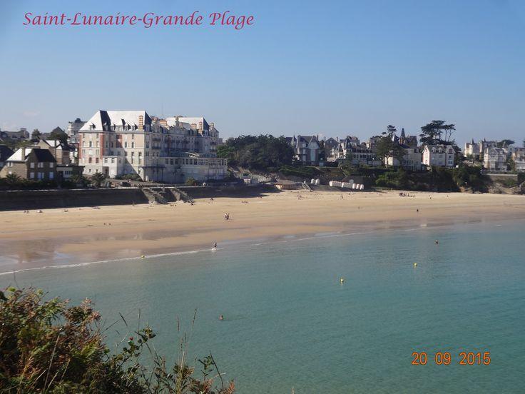 Grande Plage à St Lunaire