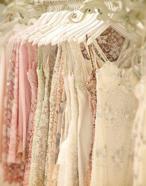 Life Is A Party Dress - Photograph Photography Photo - Metalic Print - Sparkle Dresses - Feminine Wardrobe - White Pink Cream Sequins. $25.00, via Etsy.