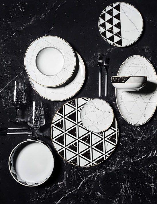 Marbre : La Collection Carrara de Vista Alegre