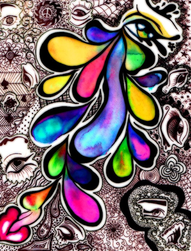 Color Tears | Different Colors Made of Tears by RubyTuesdayMorrison