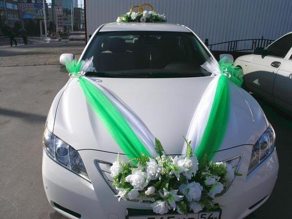 wedding car decoration #2