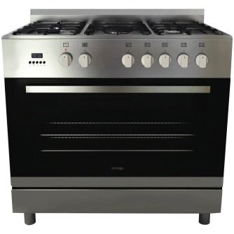 Omega OF991XS 90cm Dual Fuel Upright Cooker at The Good Guys $1498