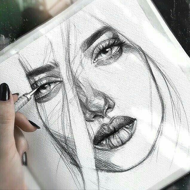 Sketches Image By Loujain Awad On Art Drawings Drawing Artist