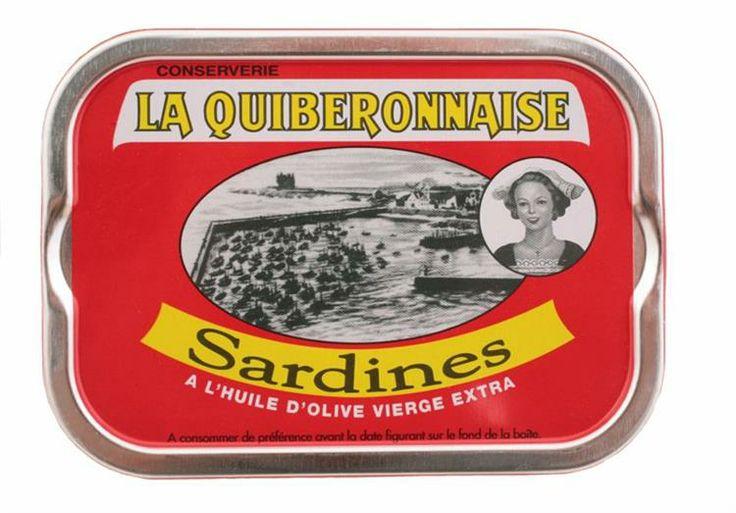 Conserverie La Quiberonnaise - Sardines à l'huile d'olive vierge extra