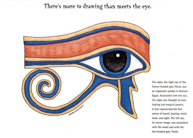 Waldorf ~ 5th grade ~ Ancient Egypt ~ Eye of Horus