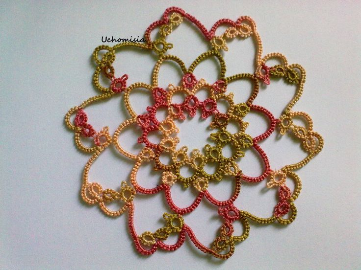 Little tatted doily - pattern http://thetarnishedtatter.blogspot.com/2009/06/motif-19-20-21.html