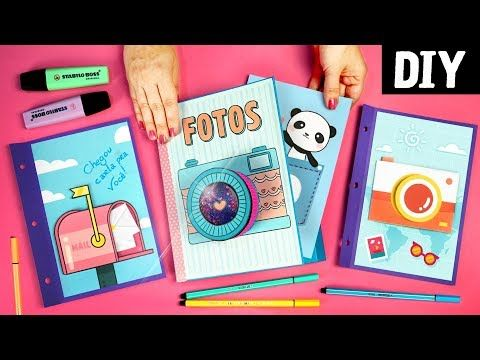 (2367) Scrapbook DIY   Learn How to do a Photo Book! - YouTube