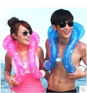 H429 Free shipping Adult children swimming laps thick floating ring baby swim ring swimming aids
