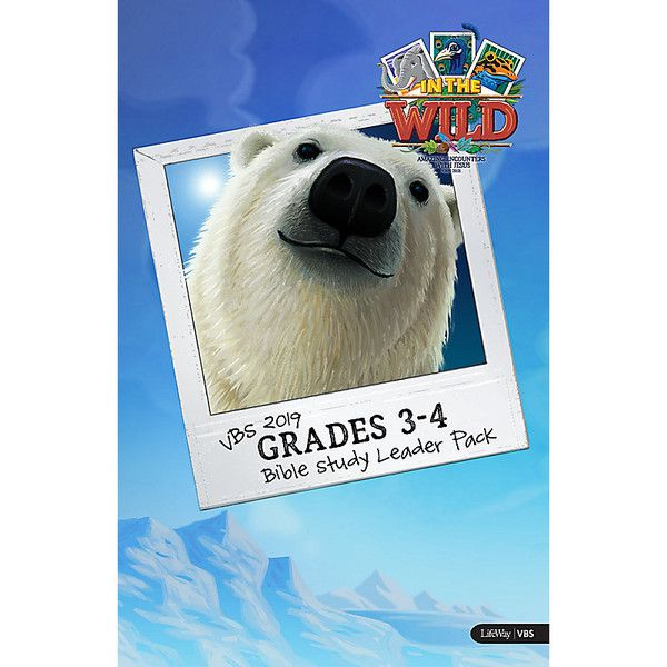 Grades 3-4 Bible Study Leader Pack - In The Wild VBS by LifeWay | In