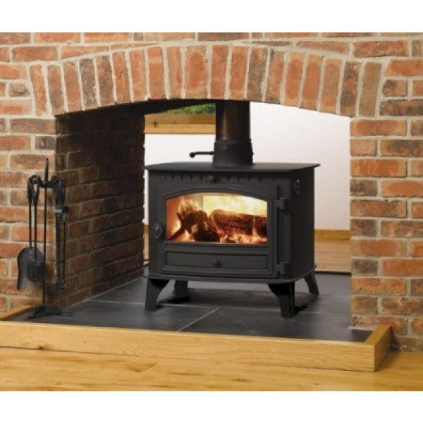 Hunter Herald 14 Double Sided Stove Double Depth Wood Approx 18kw nominal output