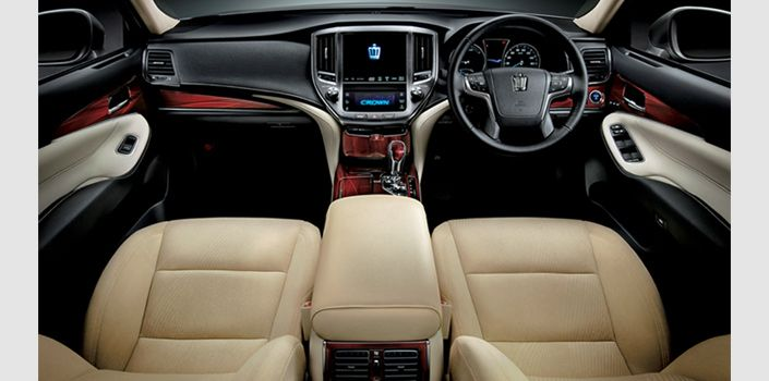 Toyota Crown is a line of premium medium to full-size luxury sedans by Toyota primarily aimed at the Japanese market and sold in other select Asian markets... #Crown #Toyota