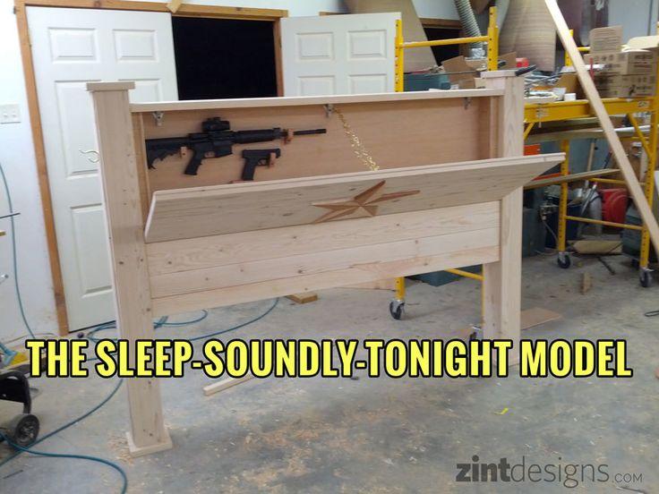 Custom Furniture with Hidden Compartments - Zint Designs - Hillsboro, TX