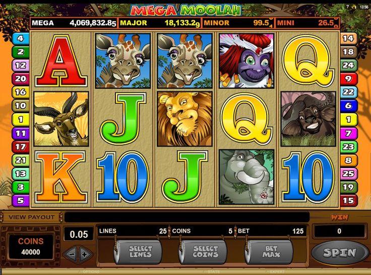 mega moolah jackpot slot free